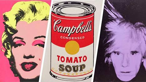 Warholin teokset ovat lainassa Hampurin taideteollisuusmuseosta.