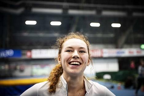 Ella Junnila on yksi Suomen yleisurheilun suurimmista tulevaisuuden toivoista.