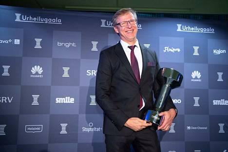 Markku Kanerva valittiin yhden äänen erolla Vuoden valmentajaksi.