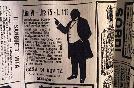 Ovatko italialaiset tekstiilitehtaat pestanneet mallin Porista.?Tämä ei ole mitään Unikko-painatusta.