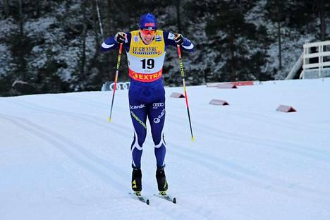 Ristomatti Hakola hiihti Otepään sprintissä sijalle 13.