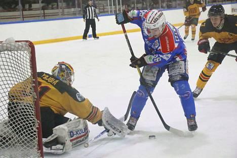 KeuPa HT:n uusin kasvo Jaakko Kuusisto sai yhden maalin johtaneen syötön heti ensimmäisessä ottelussaan.