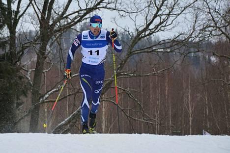 Jämin Jänteen Ristomatti Hakola hiihti sunnuntaina uransa parhaan normaalimatkan kilpailun maailmancupissa.