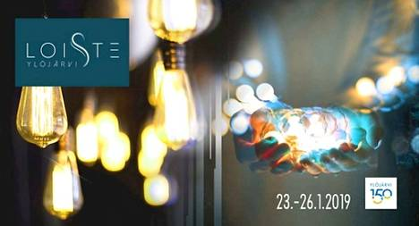Loiste Ylöjärvi -valotaidefestivaalia vietetään 23.–26. tammikuuta.
