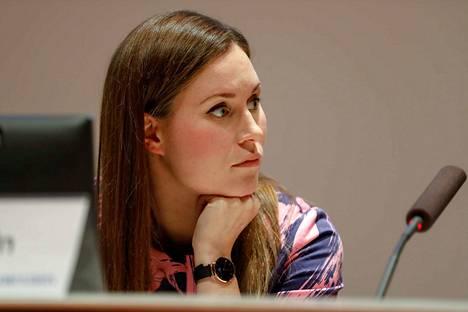 Sanna Marin tuli tunnetuksi päättäväisestä ja tiukasta otteestaan Tampereen valtuuston johdossa.