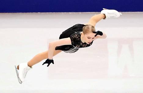 Viveca Lindforsia ei nähdä Japanissa MM-jäällä.