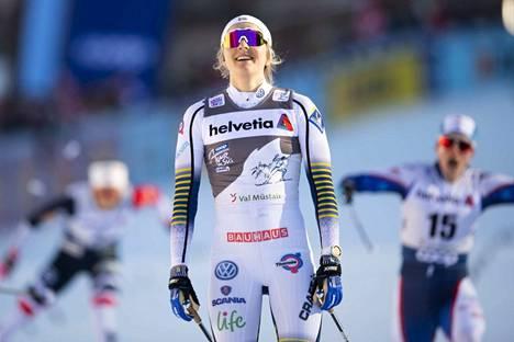 Stina Nilsson on hallinnut sptinttikisoja tällä kaudella.