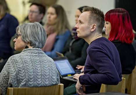 Kirkkohallituksen rippikoulutyön asiantuntija Jari Pulkkinen keskusteli keskiviikkona siitä, miten sukupuoli-identiteetti vaikuttaa rippikoulutyössä.
