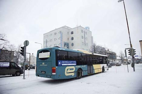 Helmikuun alusta alkaen lastenvaunujen kanssa pääsee ilmaiseksi paikallisliikenteen linja-auton kyytiin Porissa ja Ulvilassa.