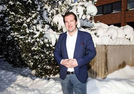 Antti Peltola on toiminut kymmenen vuotta Järvenpään hallinto- ja talousjohtajana.