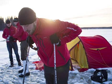 Nestori Nurmi on aina nauttinut itsensä haastamisesta erikoisissa olosuhteissa. Nyt edessä on pitkä hiihtoretki Grönlantiin.