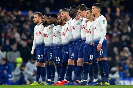 Tottenhamin riveistä puuttuu monta avainpelaajaa.