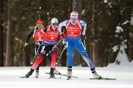 Anterselvan viikonloppu toi Kaisa Mäkäräiselle yhden palkintopallisijan. Hän oli perjantaina pikakisan kakkonen.