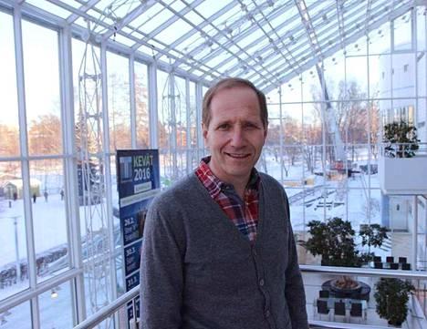 Timo Suomi ehti toimia Tampere-talon ohjelmapäällikkönä kolme vuotta.