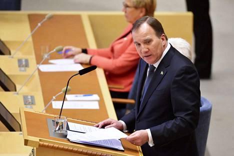 Ruotsin pääministerinä jatkava Stefan Löfven tapaa tiistaina kollegansa, pääministeri Juha Sipilän (kesk.) Helsingissä.