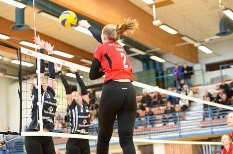 Viia Rainio oli yksi VaLePan onnistujista sunnuntain pelissä Sylväällä.