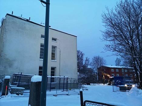 Funkkistalo sijaitsee Marttilankatu 14:ssä Sastamalan keskustassa.