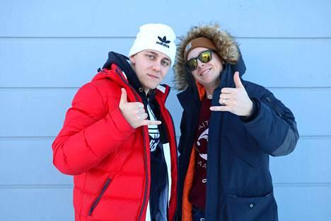 Veljekset Ville ja Mikko Vuorinen ovat yhdessä rap-duo Herra Vuoret, joka ei pelkää toteuttaa hulluimpiakin ideoita.