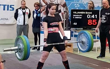 Emmi Viljanen voitti sarjassaan SM-kultaa.