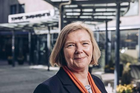 Uuden Tampereen yliopiston rehtori Mari Walls aloittaa Aamulehden kolumnistina.