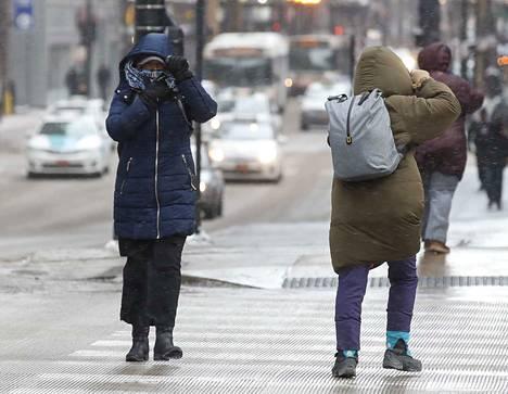 Chicagossa on tällä hetkellä kylmempää kuin Etelänavalla.