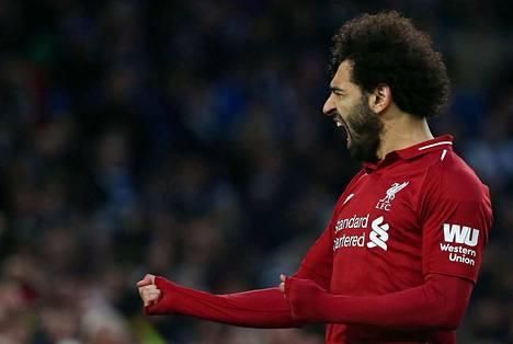 Mohamed Salahin maalitehtailu on johdattanut Liverpoolin kiinni mestaruuteen. Salahin onnistumisia tarvitaan myös tänään Leicesteriä vastaan.