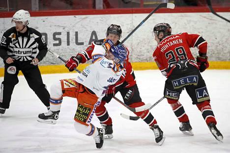 Severi Sillanpää sai juhlapelistään yhden padan.