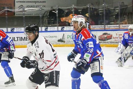 Kapteeni Waltteri Lehtonen (28) ampui Kokkolassa kauden neljännen maalinsa.