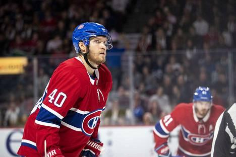 Joel Armia on pelannut Montreal Canadiensissa viime kesästä alkaen.
