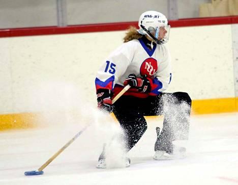 Maija Väyrynen teki NoU:n toisen maalin kauden avaustappioon päättyneessä kohtaamisessa.