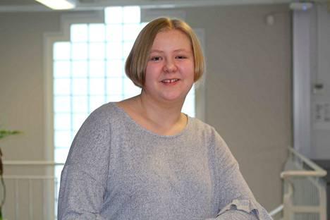 Oona Lohikainen tulee tällä viikoksi tutuksi lukijoillemme Nokian Uutisten tet-harjoittelijana.