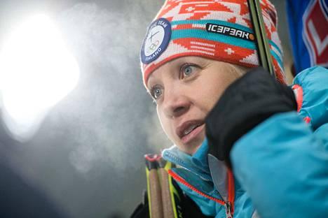 Kaisa Mäkäräinen on Suomen seuratuimpia urheilijoita. Naisten takaa-ajon MM-kilpailua katsoi televisiosta 864 000 suomalaista.