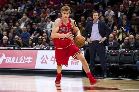 Lauri Markkanen pelaa tähänastisen uransa vahvinta jaksoa koripallon huippusarjassa NBA:ssa.