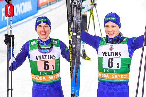 Eero Hirvonen (oik.) ratkaisi Suomelle voiton, jonka Ilkka Herola pohjusti.