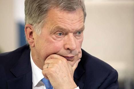 Presidentti Sauli Niinistö leikataan pian.