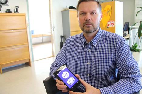 Nokialainen Marko Nieminen on ollut kehittämässä 112 Suomi -mobiilisovellusta.