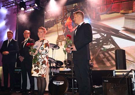 Vuoden maakunnallisen yrittäjän palkinnon sai Forssan Metallityöt Oy.