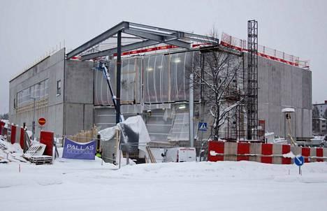 Nokialle rakennetaan parhaillaan muun muassa uutta kirjasto- ja kulttuuritaloa.