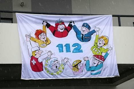 112-päivä järjestettiin ensimmäistä kertaa Janakkalassa.