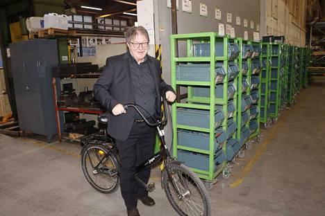 Risto Käkelä perusti Avant Tecnon Ylöjärvelle vuonna 1991. Viime vuonna puhkaistiin ensimmäisen kerran 100 miljoonan euron liikevaihto.