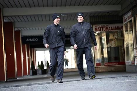 Juha Pulkkinen ja Sam Valverinne lähtevät huhtikuussa pitkälle kävelytaipaleelle Porista Turkuun. Lähtö starttaa Hotelli Amadon edestä aamulla kello 7.