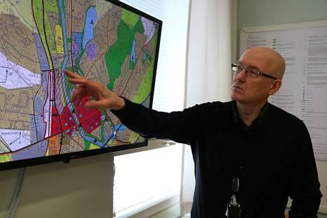Kari Stenlund on valittu Nokian maankäyttöjohtajaksi.