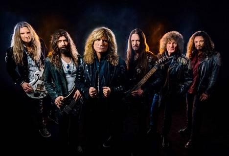 Muistatteko heidät? Whitesnake-yhtyeeltä ilmestyy toukokuussa uusi levy. Kesällä he saapuvat Tampereelle.