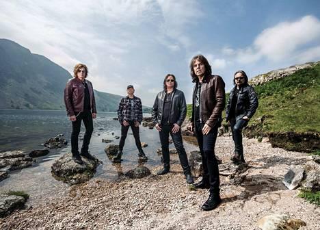 Ensi kesänä Europe-yhtye nähdään Tammerkosken maisemissa.