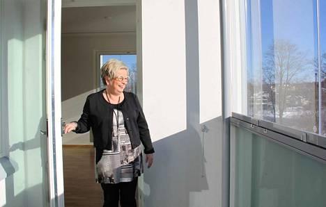 As Oy Valkeakosken Kuohu on viime silausta vaille valmis. Kiinteistönvälittäjä Tuija Kyyhkynen kertoo, että ensimmäiset yleiset asuntonäytöt alkavat maaliskuussa.