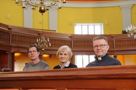 Nokian evankelisluterilaisen seurakunnan pääkirkon käyttö on vilkastunut sen jälkeen kun seurakuntakeskus suljettiin tietävät kiinteistöpäällikkö Ari Nikkarikoski, kirkkovaltuuston puheenjohtaja Tuija Kiiskinen ja kirkkoherra Lauri Salminen.
