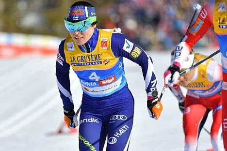Lauantaina Pärmäkoski ei ollut parhaimmillaan perinteisen hiihdossa.