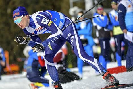 Iivo Niskanen puolustaa keskiviikkona 15 kilometrin maailmanmestaruutta.