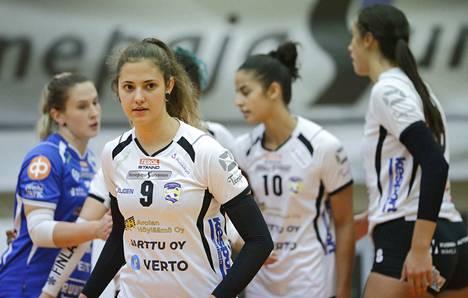 Iina Andrikopoulou nousi Vampulan ykköshahmoksi.