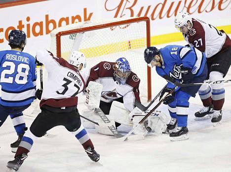 Colorado on noussut kompuroinnin jälkeen alkukauden tasolle. Winnipeg sai siitä todisteen viime viikolla.